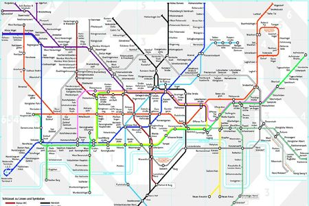 German  Tube map