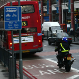Motorcycle-in-bus-lane