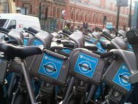 Borisbikes at King's Cross