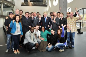 Boris at Ravensbourne College