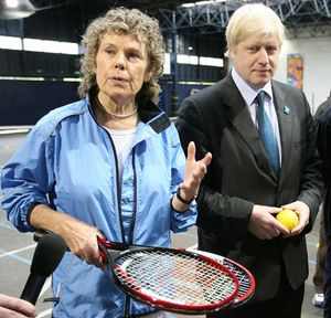 Kate Hoey and Boris
