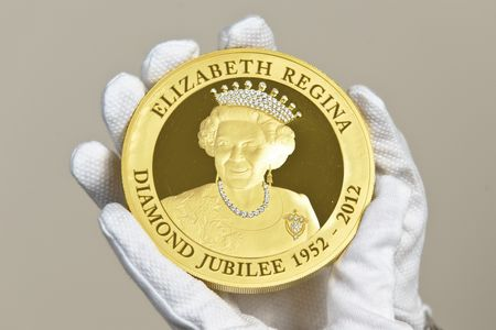 Diamond jubilee coin