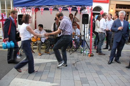 Cube Street party