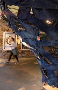 Regent St Levis installation